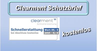 Clearment Schnellerstattung