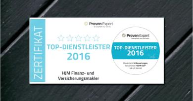 TOP Dienstleister 2016